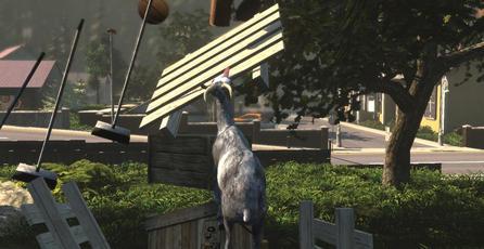 Desarrollador de <em>Goat Simulator</em> pondrá a Hideo Kojima en sus créditos