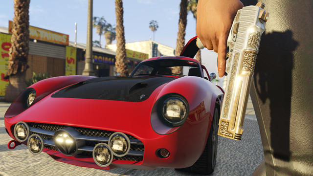 Levelup Dlc Theft Nuevo Para Auto V Grand Rockstar Adelanta fygb76Y