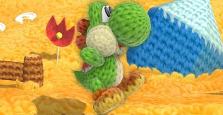 Nintendo publica nuevo trailer de <em>Yoshi's Woolly World</em>