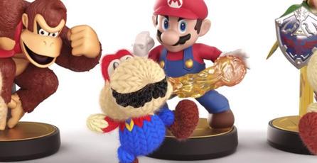 amiibos desbloquearán apariencias en <em>Yoshi's Woolly World</em>