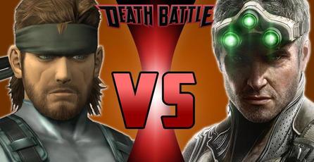 Solid Snake y Sam Fisher se enfrentan en una batalla a muerte