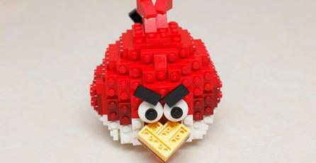 Habrá línea de LEGO de <em>Angry Birds</em>