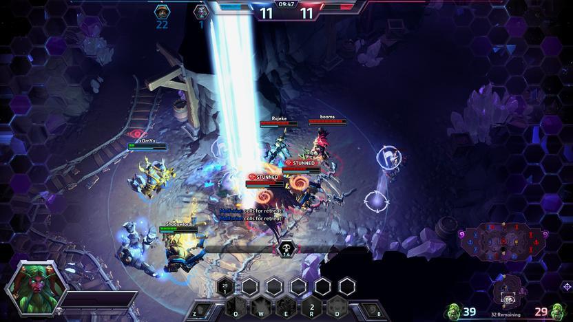 Las habilidades heroicas son devastadoras