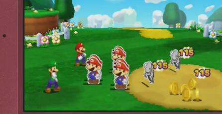 Nintendo muestra <em>Mario & Luigi Paper Jam</em>