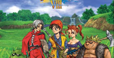 Muestran portada de <em>Dragon Quest VIII</em> para 3DS