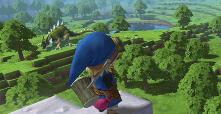 Revelan detalles de <em>Dragon Quest</em> con estilo <em>Minecraft</em>