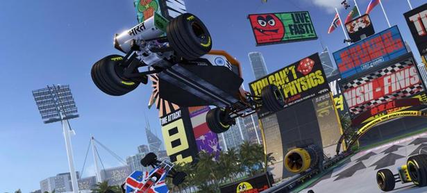 Liberan nuevo gameplay de <em>Trackmania Turbo</em>