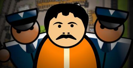 <em>Prison Architect</em> y el escape del Chapo Guzmán