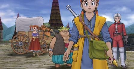 Liberan nuevo trailer de <em>Dragon Quest VIII</em> para Nintendo 3DS