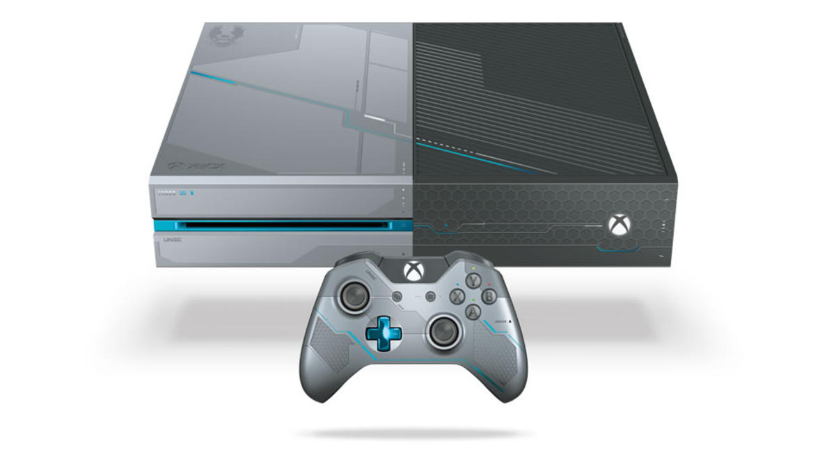 Mira el Xbox One de <em>Halo 5: Guardians</em>