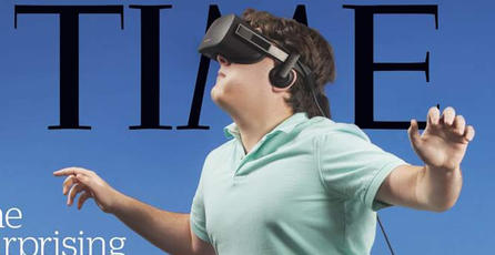 Revista Time dedica portada a Oculus y es horrible