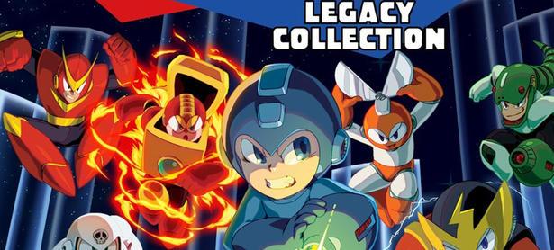 <em>Mega Man Legacy Collection</em> ya tiene fecha de estreno