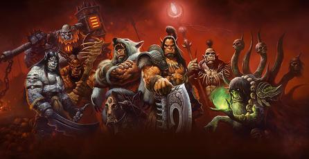 Ganadores: póster de <em>World of Warcraft: Warlords of Draenor</em>