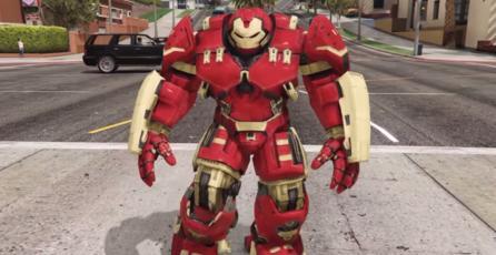 Crean mod de Hulkbuster para <em>GTA V</em>