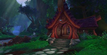 Screenshots de los escenarios en World of Warcraft: Legion.