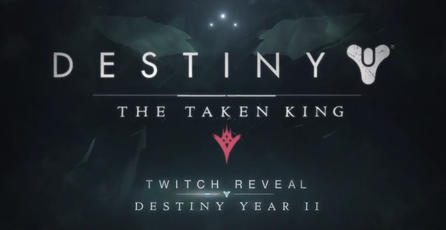 Teaser de la revelación de The Taken King - Año 2