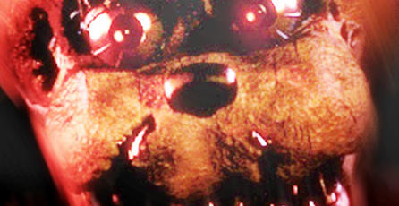 Dan información sobre la actualización de <em>Five Nights at Freddy's 4</em>