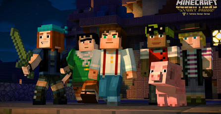 Minecraft: Story Mode [Minecon 2015 Trailer]