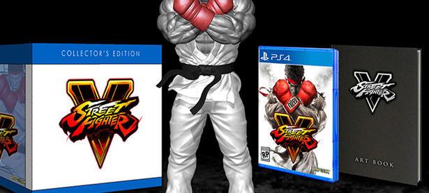 Mira la edición de colección de<em> Street Fighter V</em>
