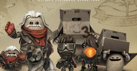 El nuevo DLC de <em>LittleBigPlanet 3</em> está inspirado en <em>MGS V</em>