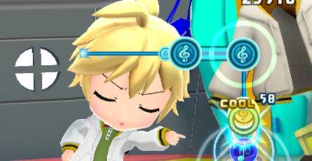 Screenshots por el lanzamiento del nuevo juego de Hatsune Miku