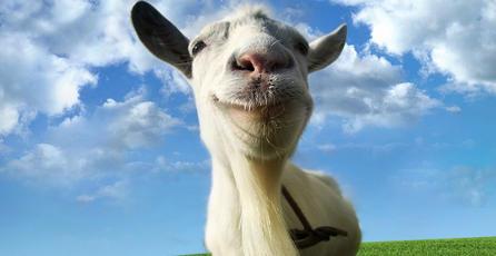 <em>Goat Simulator:</em> Se aburrió de la humanidad y se convirtió en cabra