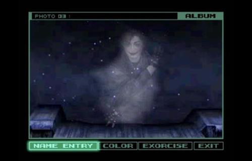 Versión fantasmal del guionista en Metal Gear Solid
