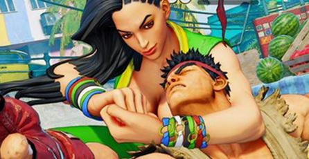 Laura de <em>Street Fighter V</em>