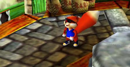 Mira el metraje nunca visto de un juego de Conker para Nintendo 64
