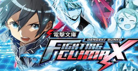 Experiencia de juego: Dengeki Bunko Fighting Climax