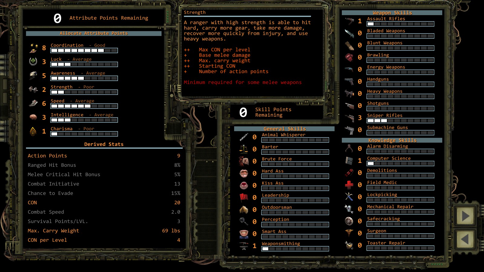Wasteland 2 Directors Cut Levelup