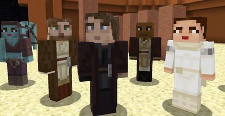 <em>Minecraft</em> recibe skins de precuelas de <em>Star Wars</em>