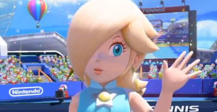 Mira una partida de <em>Mario Tennis: Ultra Smash</em>