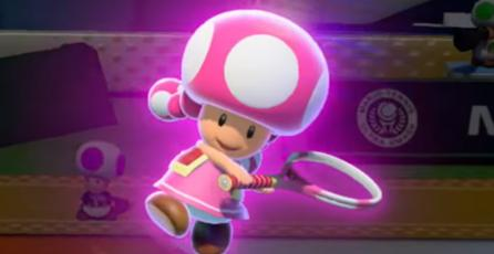 Toadette se une a <em>Mario Tennis: Ultra Smash</em>