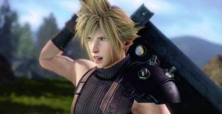 Observa a Cloud Strife en <em>Dissidia Final Fantasy</em>