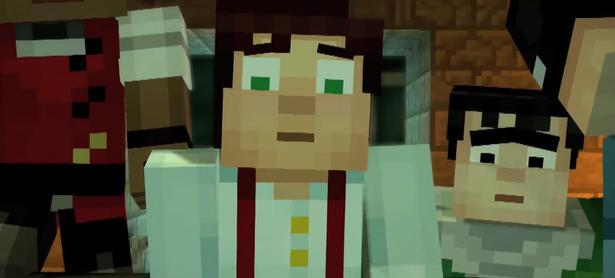 Mira el nuevo trailer de <em>Minecraft: Story Mode</em>