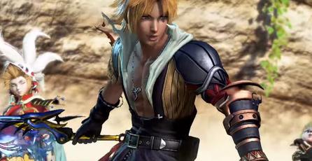 Mira a Tidus en <em>Dissidia Final Fantasy</em>