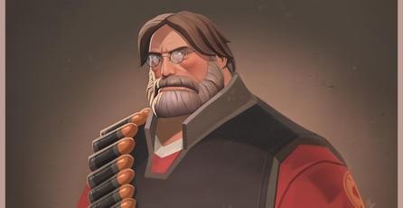 Juega como Gabe Newell en <em>Team Fortress 2</em>