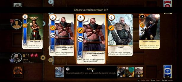 Mod sustituye el combate de <em>The Witcher: Wild Hunt</em> con juegos de cartas