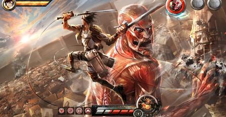 Presentan videos con gameplay de <em>Attack on Titan</em>