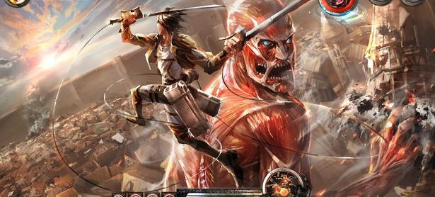Presentan videos con gameplay de <em>Attack on Titan</em>