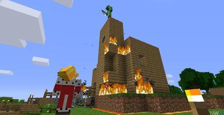 La versión de <em>Minecraft</em> para Wii U arroja buenas ventas