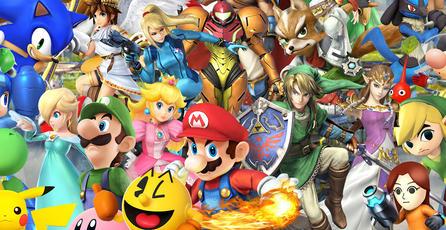 Descubren glitch para controlar a 8 personajes en <em>Smash Bros.</em>