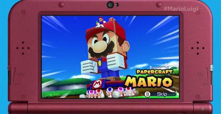 Liberan nuevos avances de <em>Mario & Luigi: Paper Jam</em>