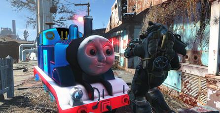 Llega el terror de Thomas The Tank Engine a <em>Fallout 4</em>