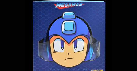 Estos son los audífonos oficiales de <em>Mega Man</em>