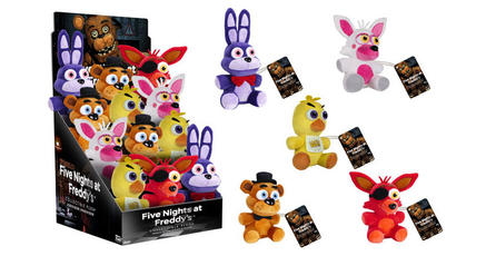 Prepárate para la mercancía de <em>Five Nights at Freddy's</em>