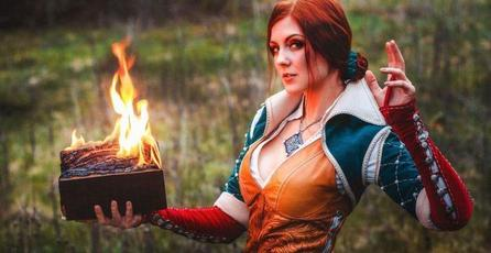 Ve este asombroso cosplay de Triss, de <em>The Witcher</em>