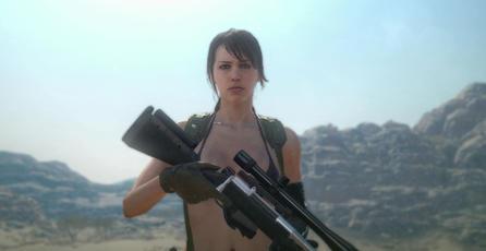 Mod te permite jugar como Venom Snake y Quiet en <em>Fallout 4</em>