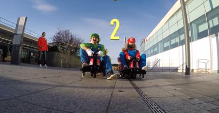 Mira el entretenido Flashmob de <em>Mario Kart</em>